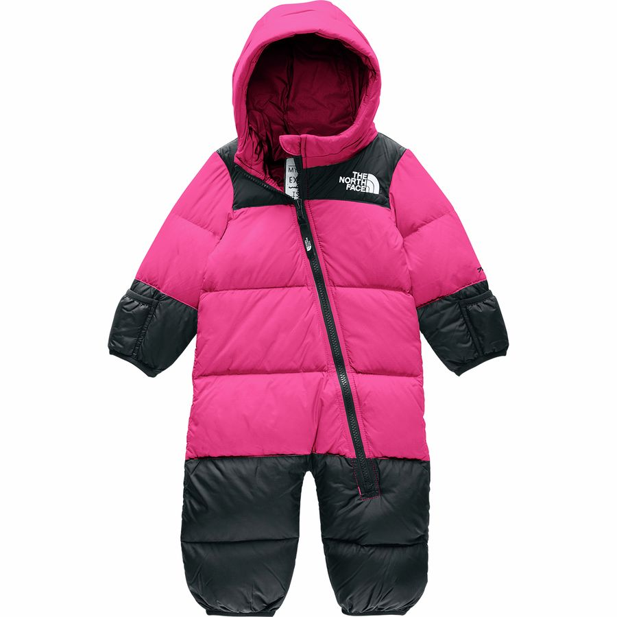 The North Face Nuptse One Piece Bunting Infant Girls