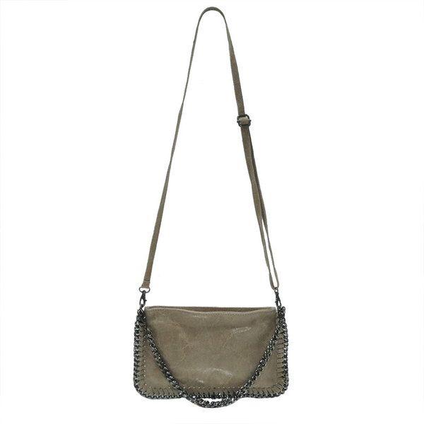 6194e2e470 sac bandoulière bordure chaine Vimoda sur cpourl.fr - CpourL | Sacs ...