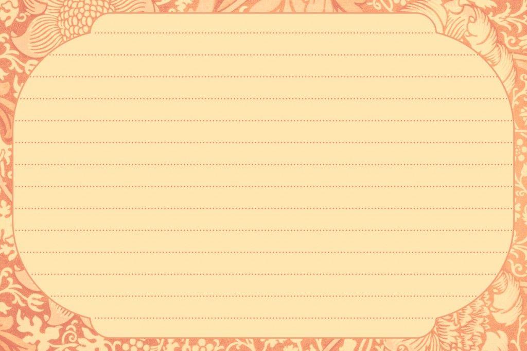 blank printable recipe card | Recipe cards printable free ...