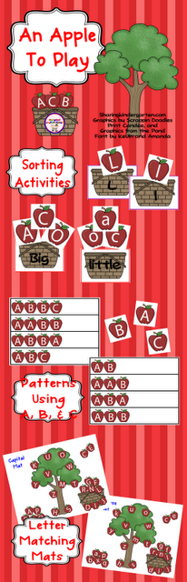 An Apple to Play Unit... 2 pages for FREE in preview download