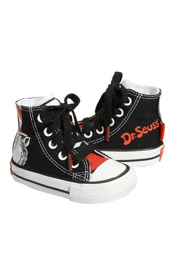 7cf81d0798d7 Converse Chuck Taylor®  Dr. Seuss - Cat in the Hat  High Top Sneaker 34.95.  If only they came in my size.......might have to get these for you know who   )