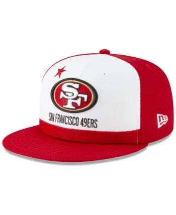 sale retailer 49b7c d1e75 New Era Little Boys San Francisco 49ers Draft 59FIFTY Fitted Cap - Red 6 5 8