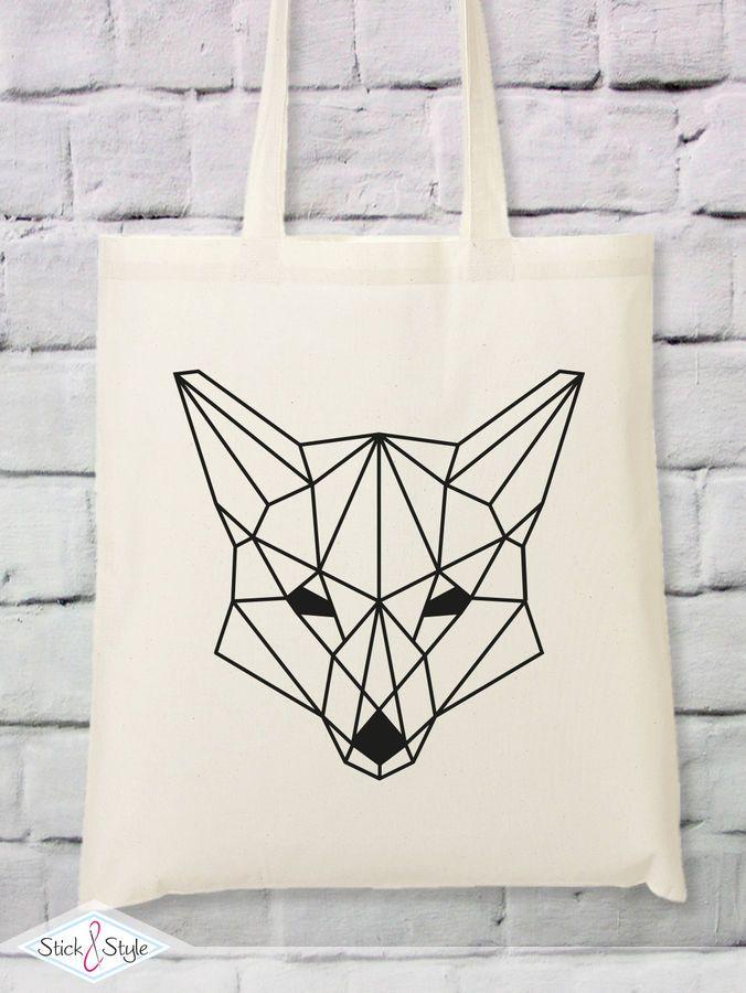 Photo of Plottervorlage Geometrischer Fuchs – Plotterdateien bei Makerist