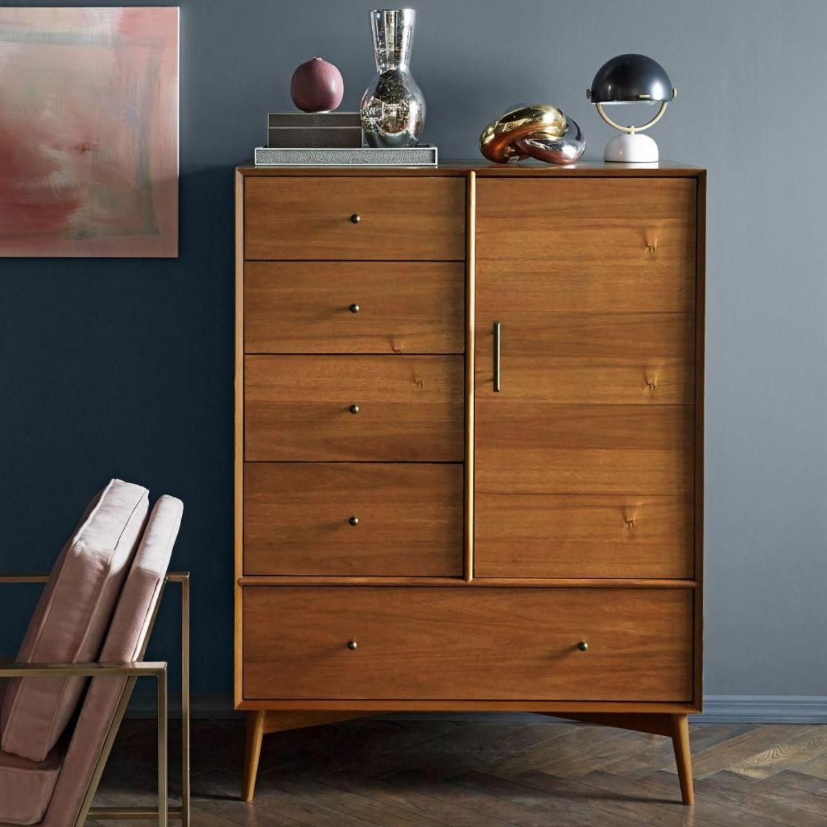 Smaller Than An Armoire And More Accommodating Than A Chest Of Drawers,
