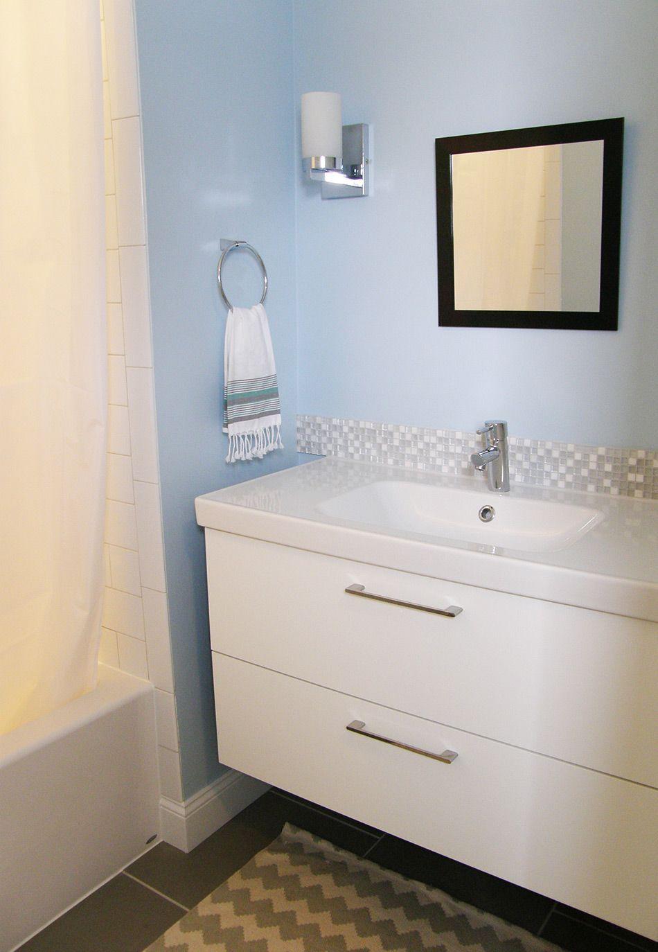 Ikea bathroom | Tile | Pinterest