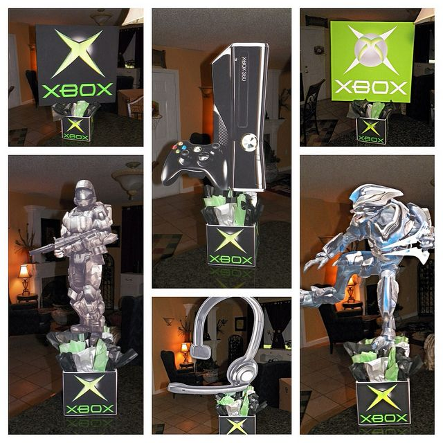 Xbox Birthday Party Centerpieces Call Of Duty