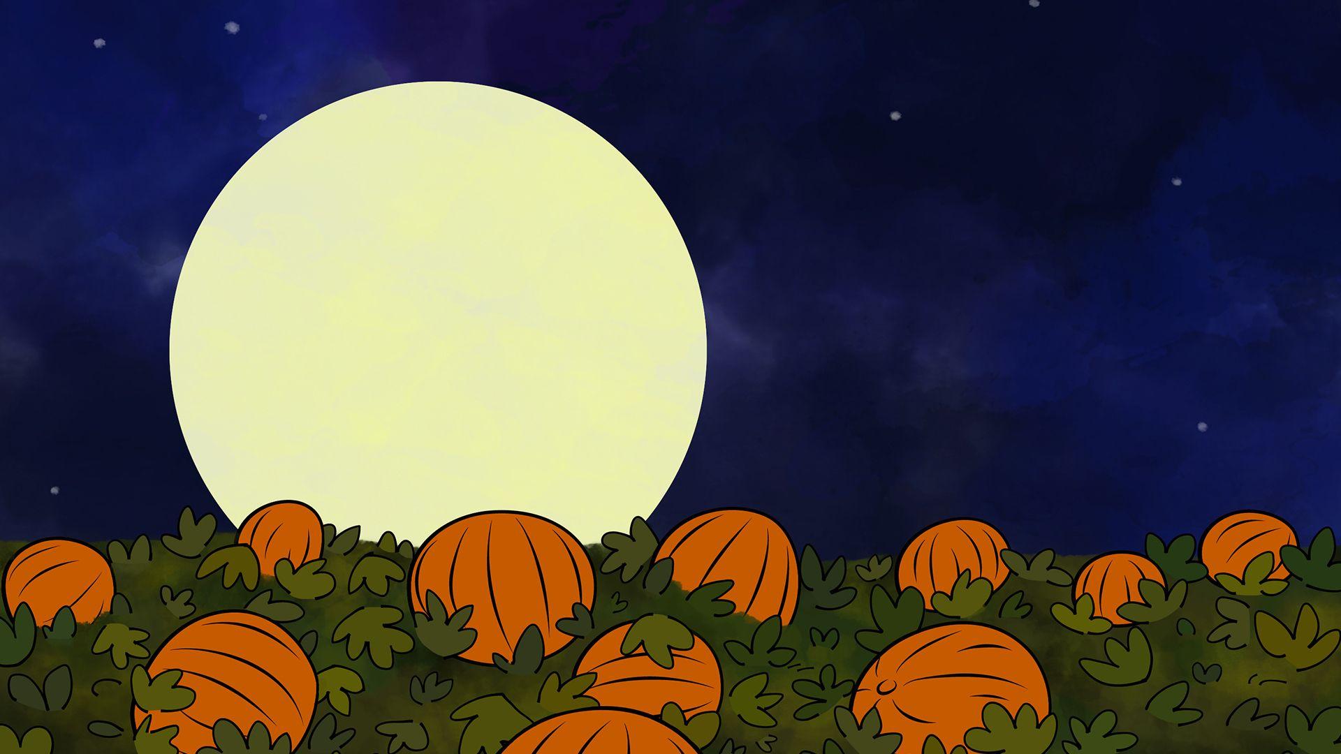Great Pumpkin Charlie Brown Wallpaper