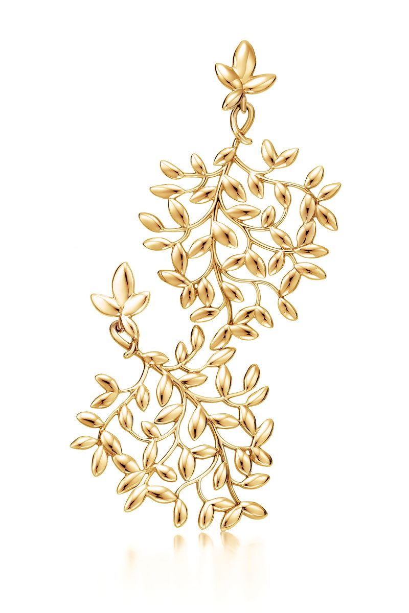 Olive Leaf Drop Earrings Paloma Picasso 174 Designs In 2019