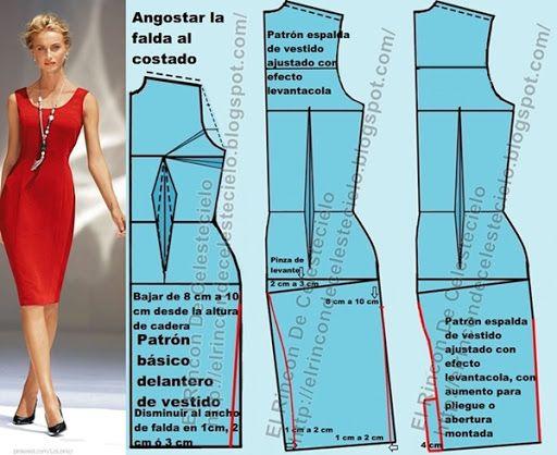 Como hacer un vestido basico para mujer