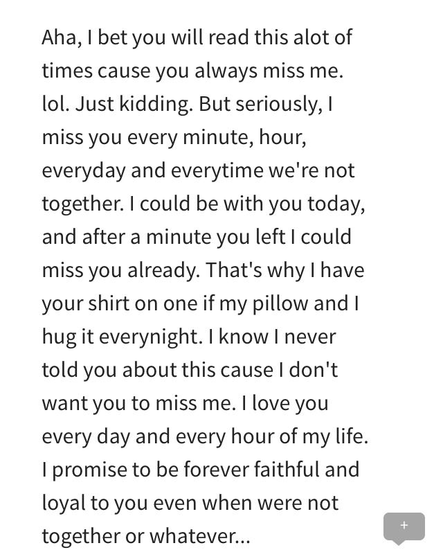 Letter to my boyfriend before we went to college ❤ Boyfriend - thank you letter to my boyfriend