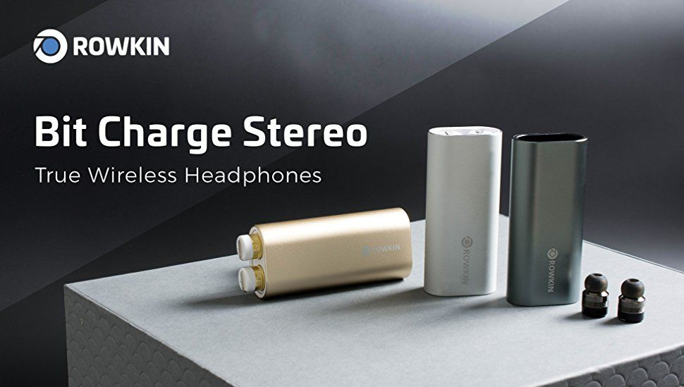 c0a5c7cc7a5 Amazon.com: Rowkin Bit Charge Stereo: True Wireless Earbuds w/Charging Case