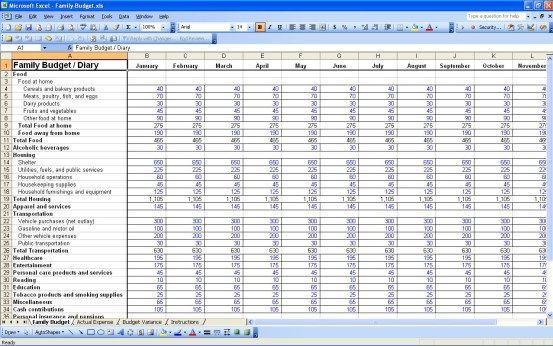 9+ Excel Budget Worksheet Template http://www.crunchtemplate.com/9 ...