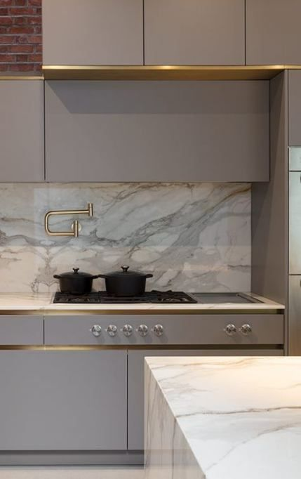 43 ideas for kitchen marble copper backsplash tile on 69 Types Of Kitchen Tiles To Choose For A New Kitchen Design id=24621