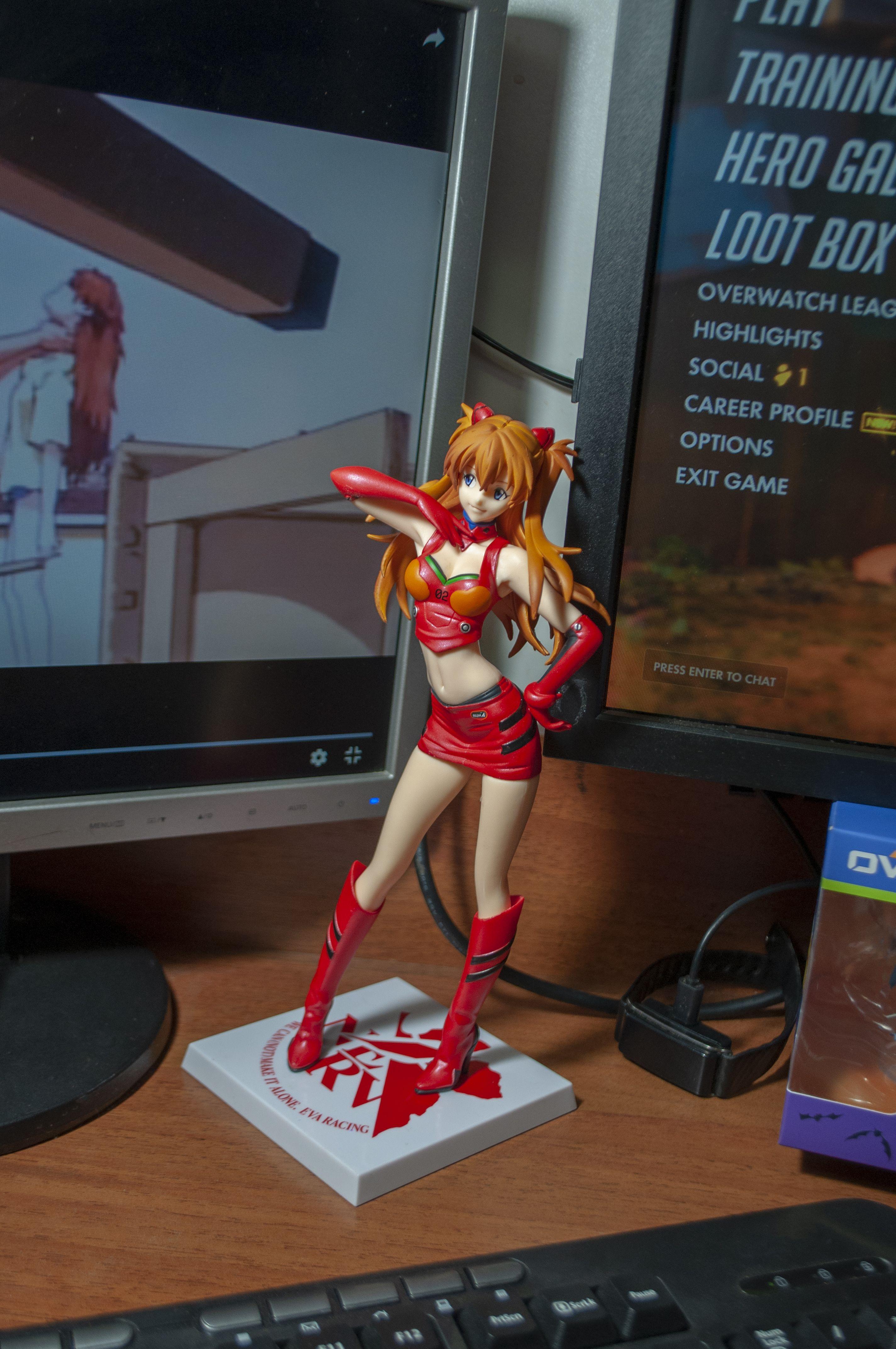 Asuka Shikinami Langley Premium Figure Sega Evangelion Racing
