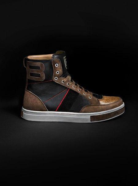 Brett Johnson Collection BBRBW High Top #kicks #sneakers #mensstyle