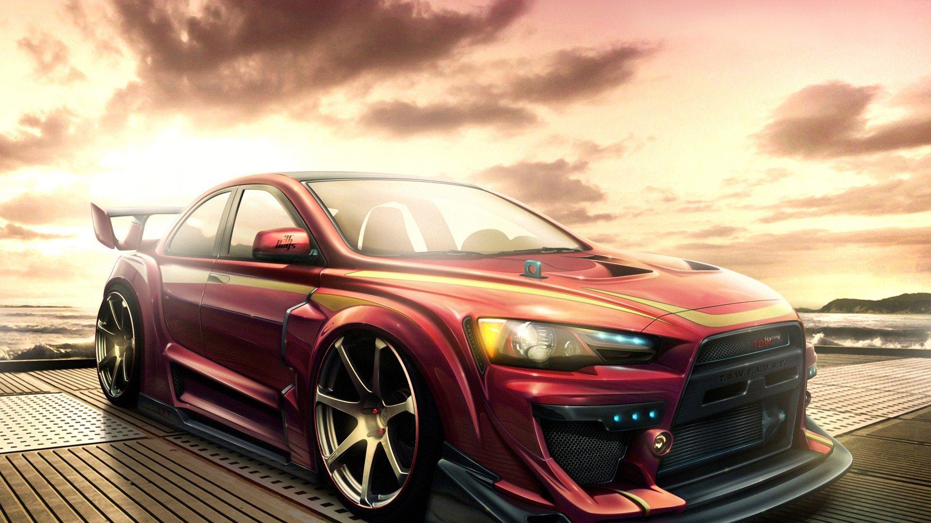 mitsubishi lancer evolution 1080p hd wallpaper 1080p hd wallpapers - Mitsubishi Lancer Evolution 2014 Wallpaper