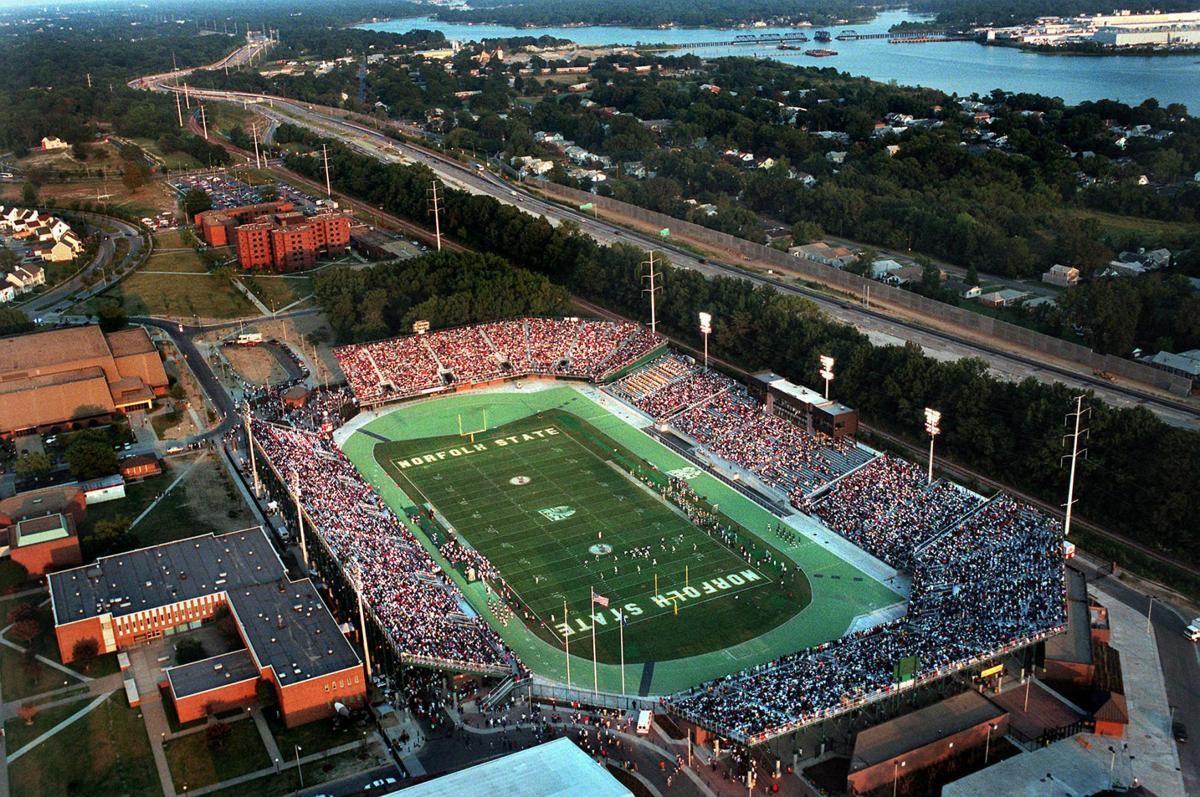 Norfolk states stadium undergoing 138 million field