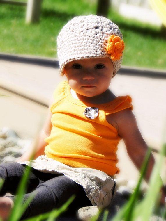 Sombrero del bebé del ganchillo sombrero de los por JuneBugBeanies ...