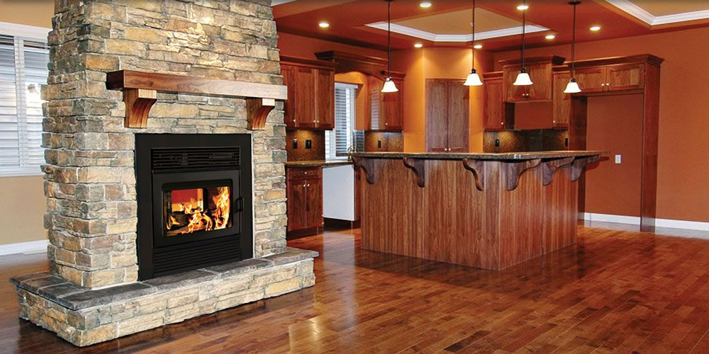 how to start a gas fireplace with wood