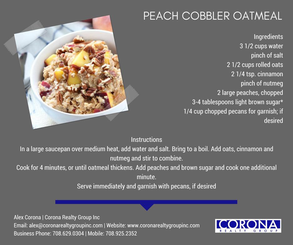 Idea By Alex Corona On Corona Recipes In 2020 Peach Cobbler