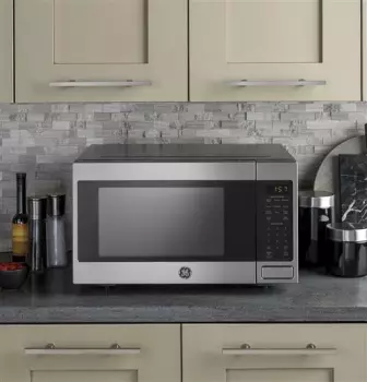 Ge Jes1657smss In 2020 Microwave In Kitchen Countertop