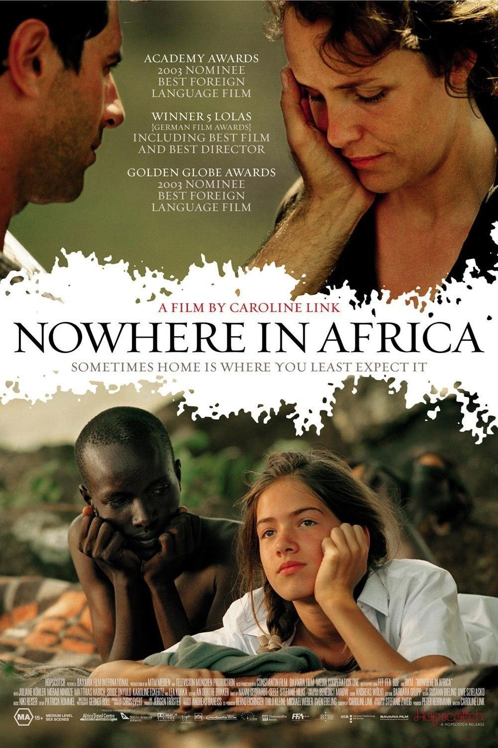 Nowhere In Africa 2001 Travel Movies Movies To Watch Good Movies