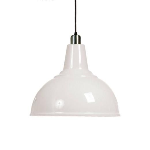 Fancy Polished White Pendant Lights Finished Chromes Giclee