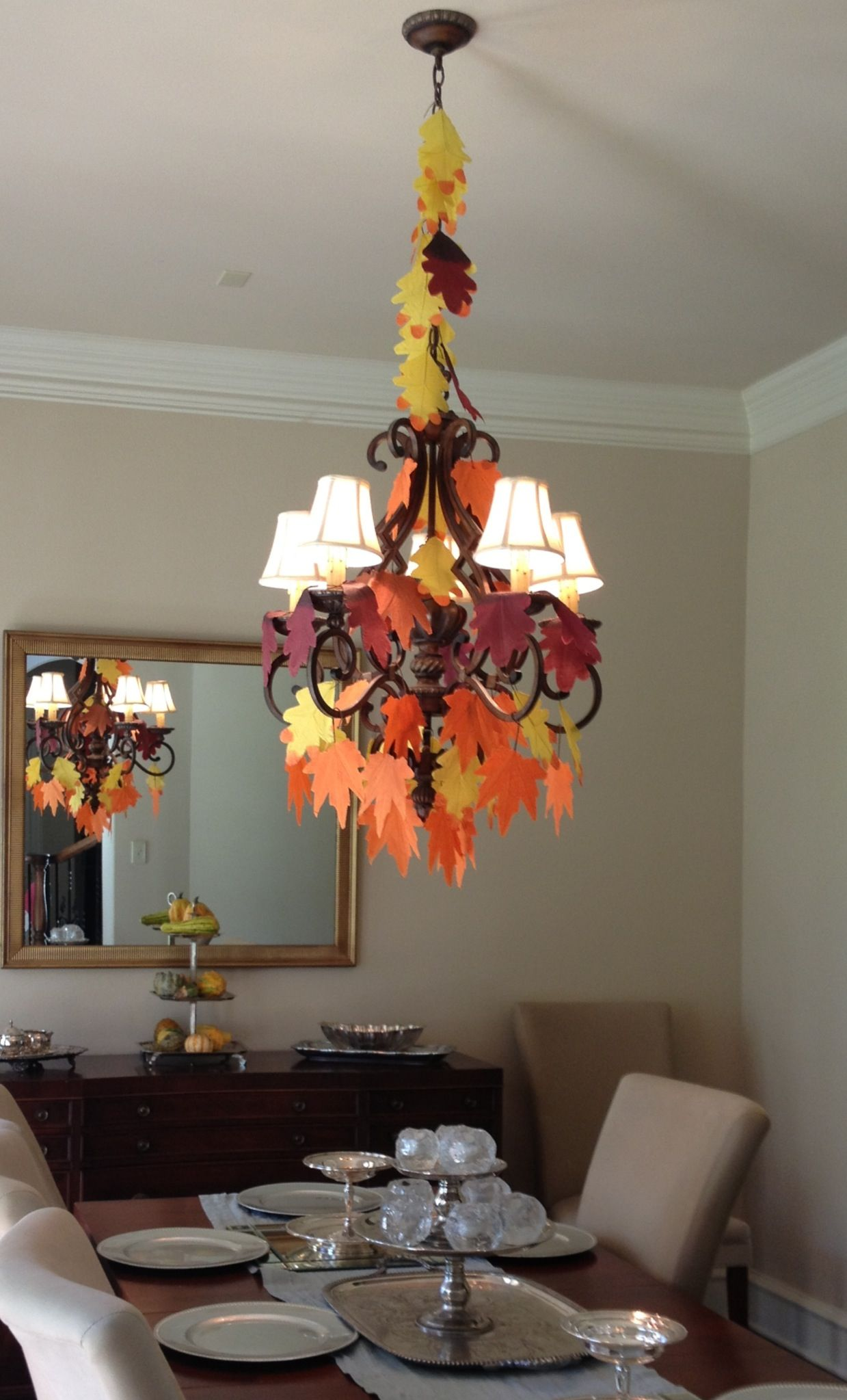 Thanksgiving Chandelier Dollar Tree Dollar Tree Ideas