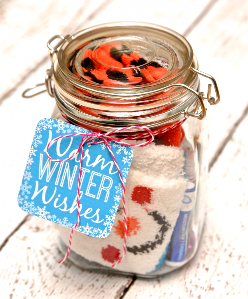 Winter Survival Kit Gift In A Jar Mason Jar Gifts Diy Mason Jar Gifts Survival Kit Gifts