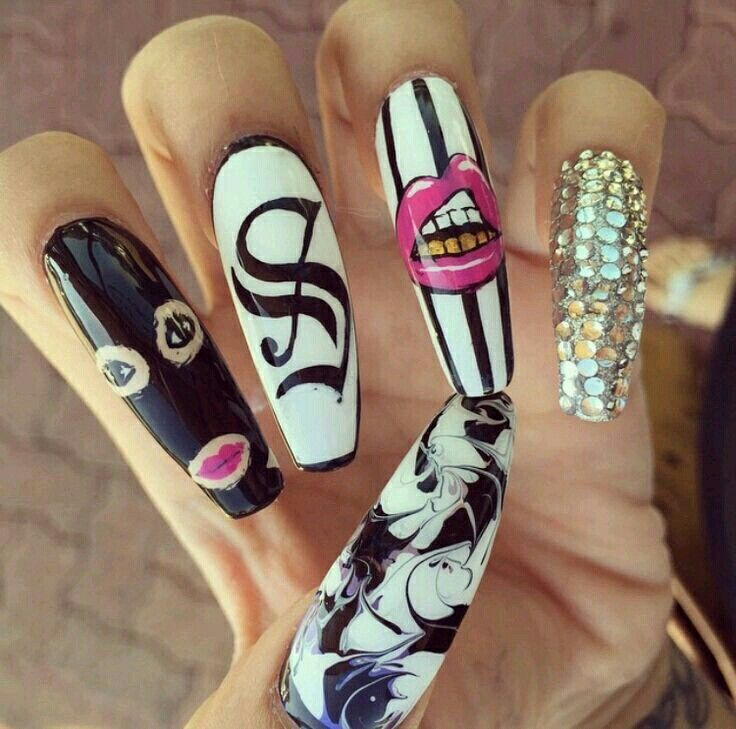 Gangster Nailz Pinterest Gangsters Nail Inspo And Nail Nail