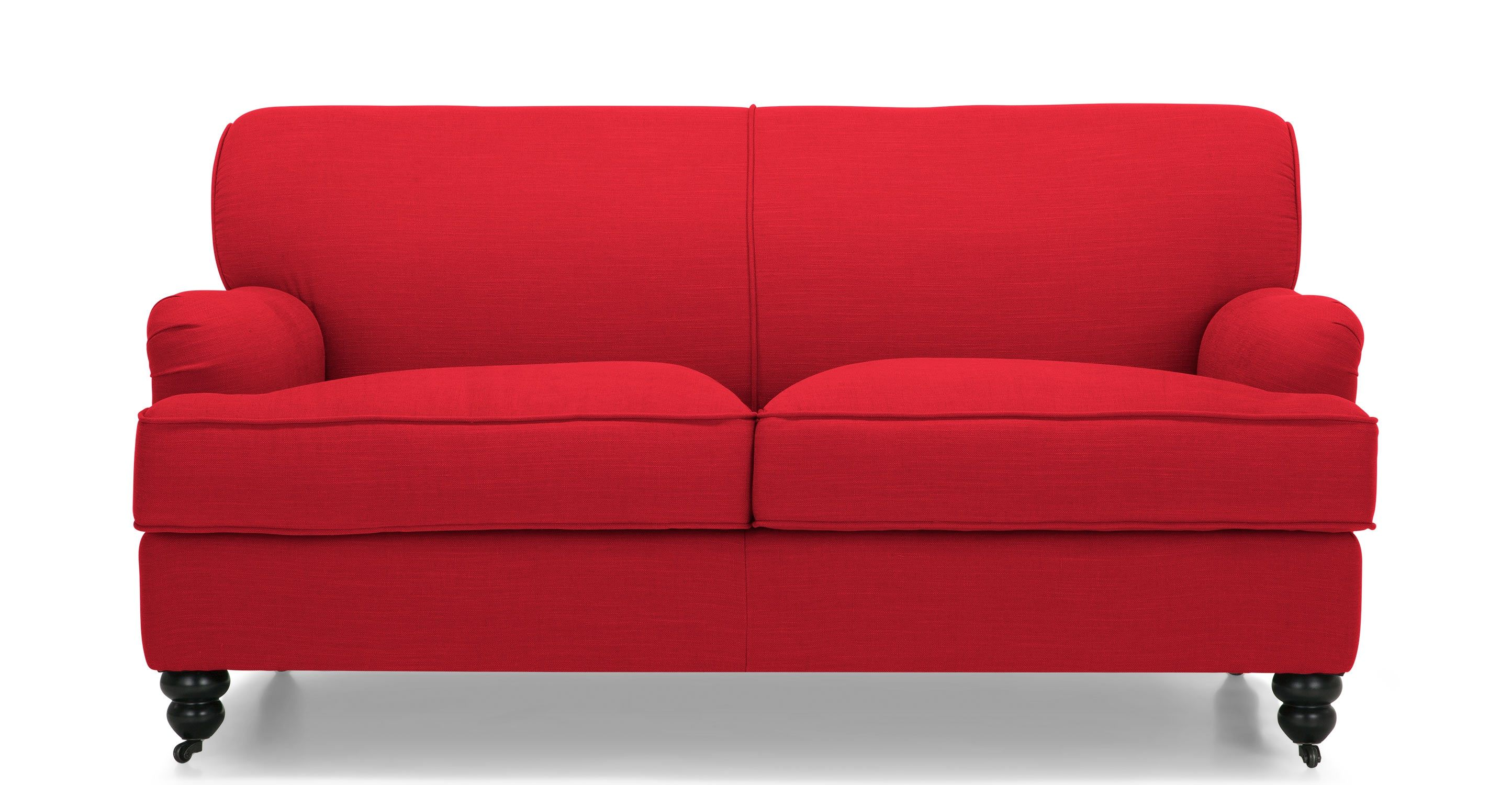 Sofas Red Free Shipping Clic European Style Cattle Leather