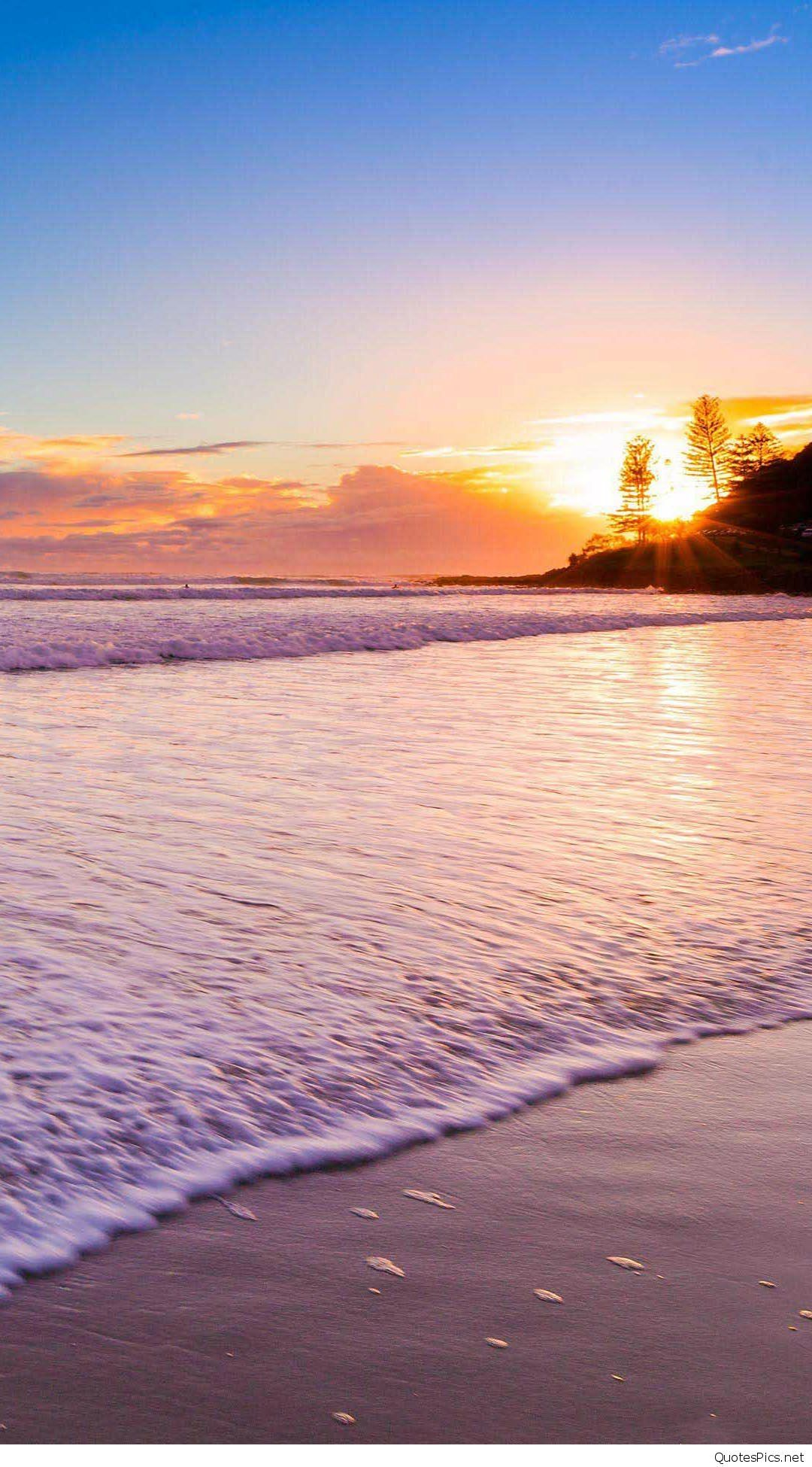 Luxury Pink Beach Sunset Wallpaper Beach Sunset Wallpaper