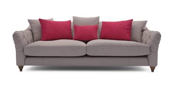 Raffles Grand Sofa Classic Velvet Dfs New House Classic Sofa