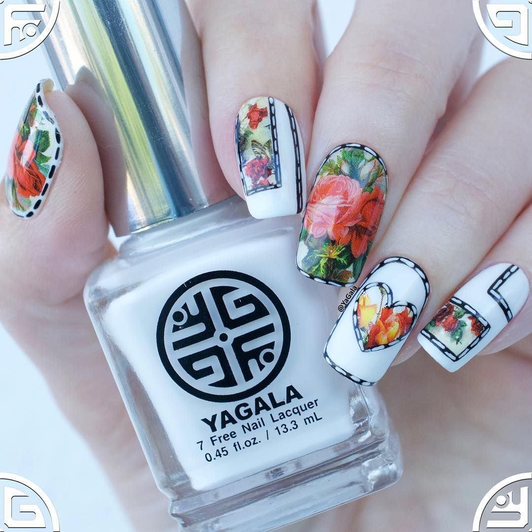 "Galina S. (@yagala) on Instagram: ""New nail design. Video on my ..."