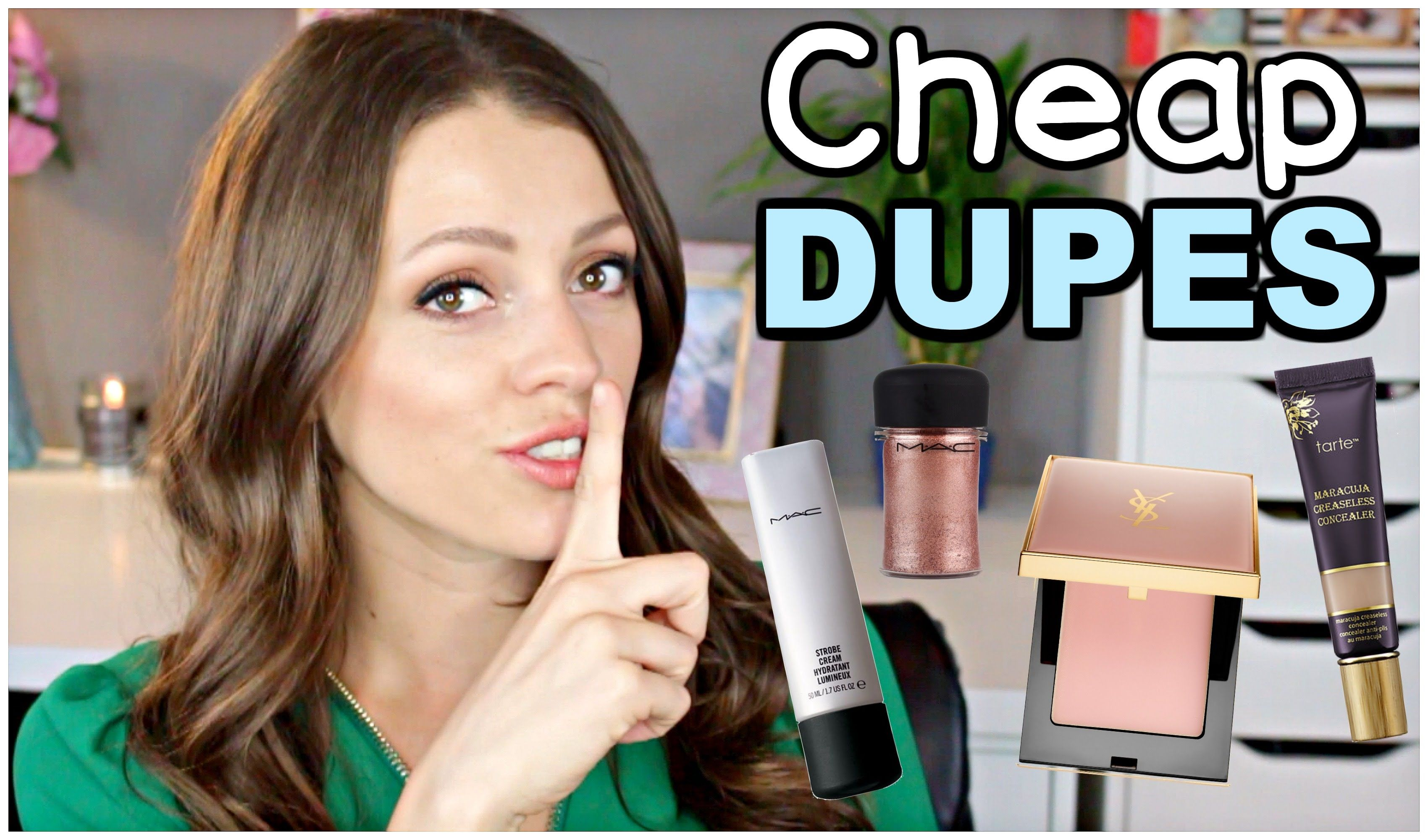 Cheap Drugstore DUPES for High End Makeup 2016 Makeup