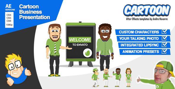 Cartoon Business Presentation Business presentation and Business - business presentation