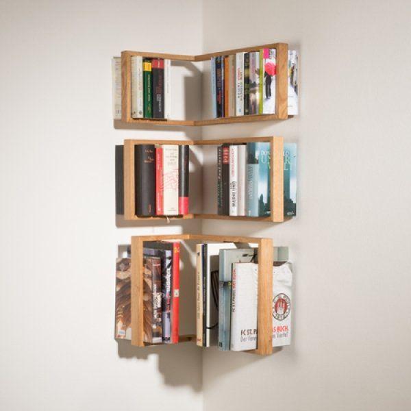 Libreria ad angolo (35/51 x 22) | la casa dell\'architetto ...