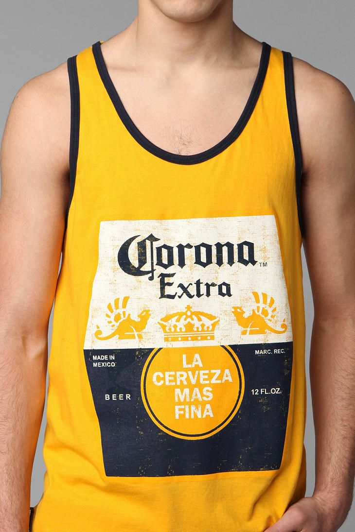9ef8c3cacc6098 Corona Tank Top  UrbanOutfitters  -- good for festivals