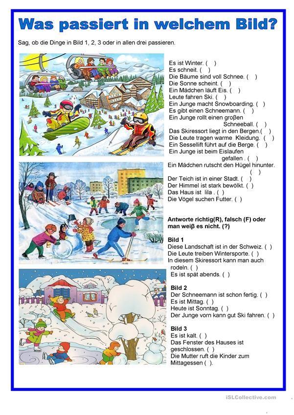 Bildbeschreibung - Winter | german | Pinterest | Winter sports and ...