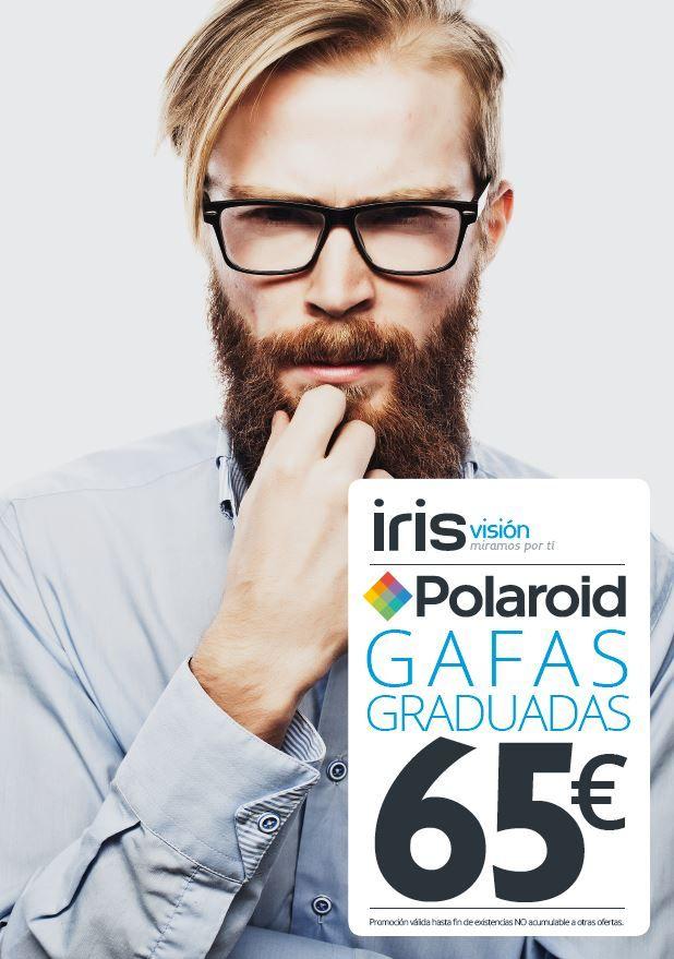 Campaña de gafas graduadas Polaroid, diseñada para la cadena de ...