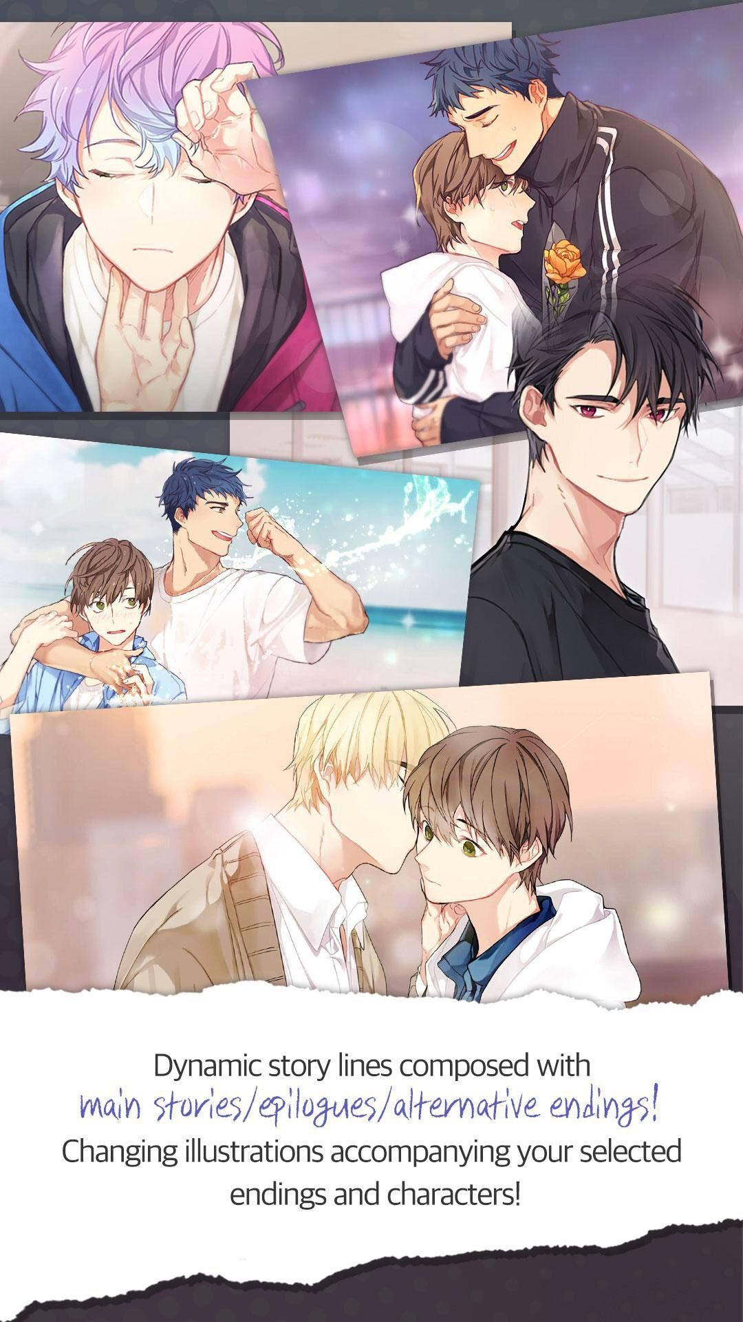 Ikemen Fangirl English Otome Game App With Korean Voice My Romantic Games Game App Anime