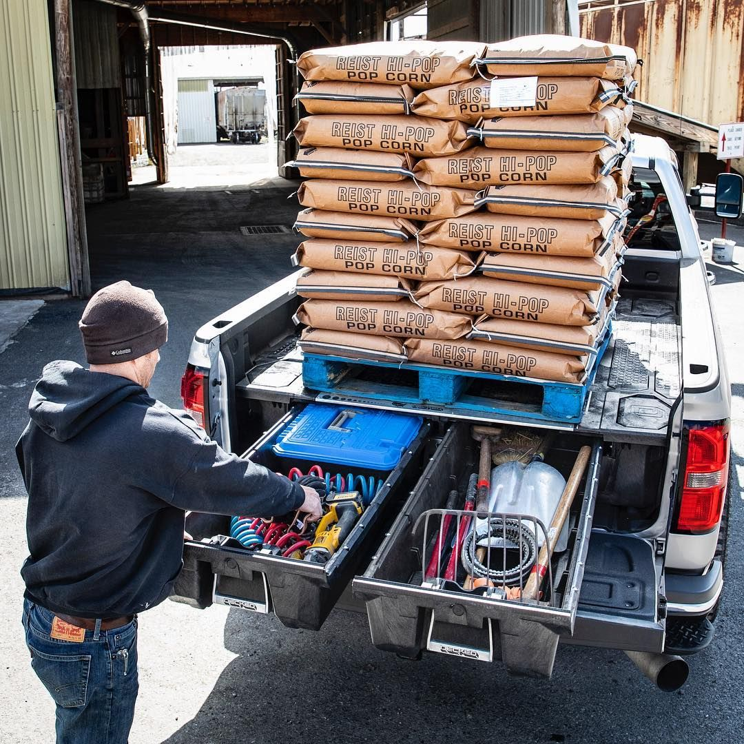 DECKED® Truck Bed Tool Boxes & Organizers and Cargo Van