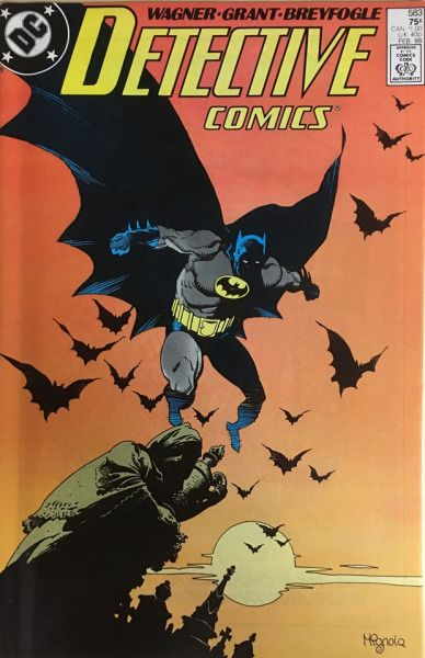 Detective Comics v.1 #583 (February 1988), cover by Mike Mignola