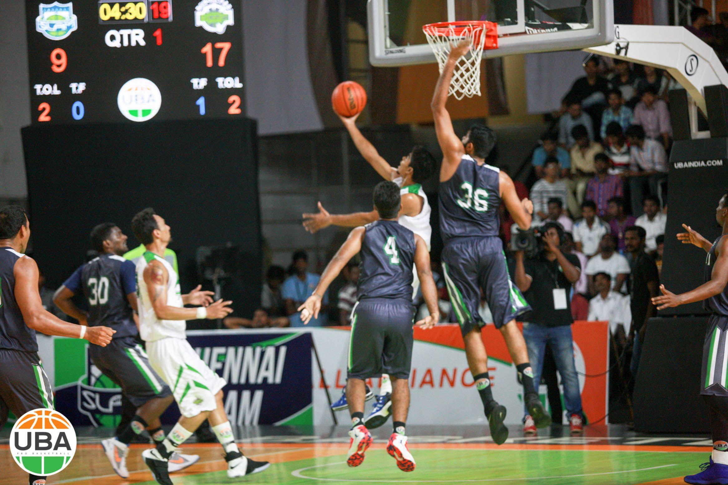 Paint Protector Rikin About To Swat One Into The Stands Vs Bengaluru Beast Ubaseason4 Ubaindia Basketball Teams Basketball Court Uba