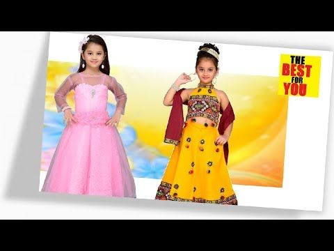 bfc584776 New collection of baby girl gown dresses  Kids latest Western wear ...