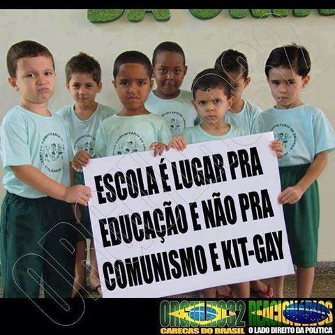 """"""" BLOG do Ivan maia """" GUAPIMIRIM REAGE BRASIL.: ESCOLA É LUGAR PARA EDUCAÇÃO E NÃO PARA COMUNISMO ..."""