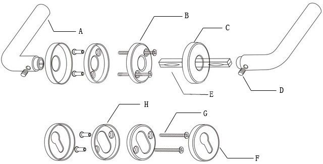 Collection Door Handle Diagram Pictures - Images picture are ideas
