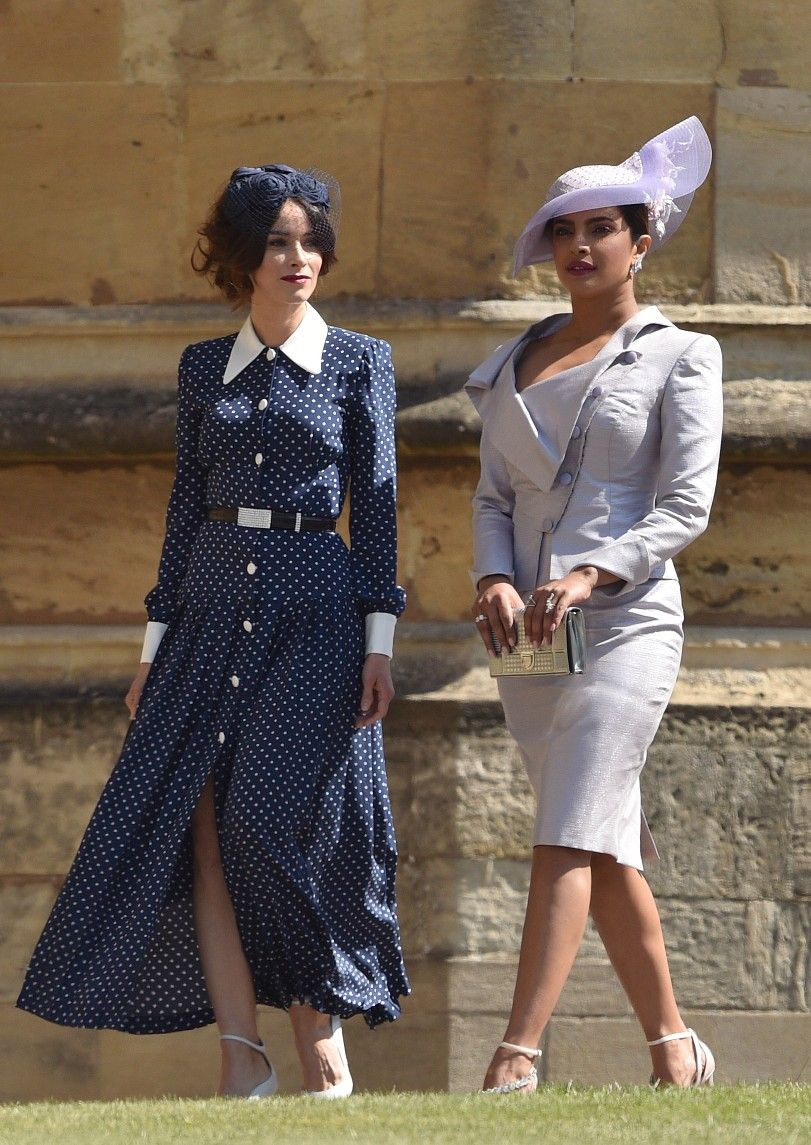 870b8d5a44cc Abigail Spencer   Priyanka Chopra - St George s Chapel for Meghan Markle    Prince Harry s wedding in Windsor
