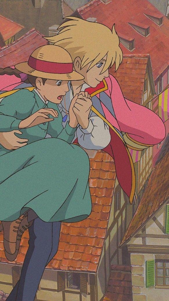 Ghibli background Hauru and sophie
