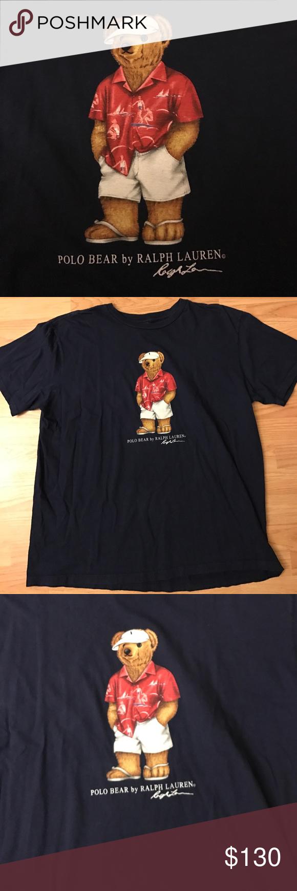 c8118a0fe8a9 Vintage Polo Bear Ralph Lauren Rare! Vintage polo bear by Ralph Lauren.  Size XL. In amazing vintage condition. Polo by Ralph Lauren Shirts Tees -  Short ...